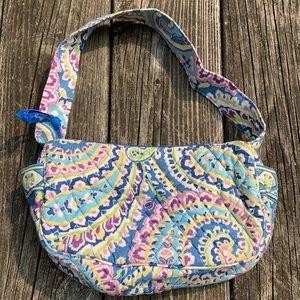 Blue Vera Bradley Hand Bag